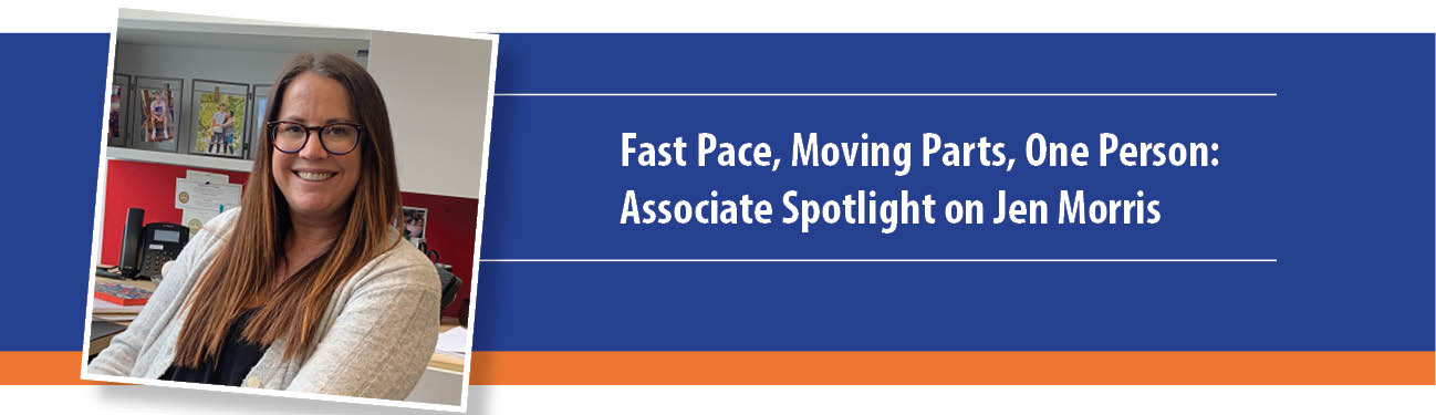 Fast Pace, Moving Parts, One Person: P1 Associate Spotlight on Jen Morris