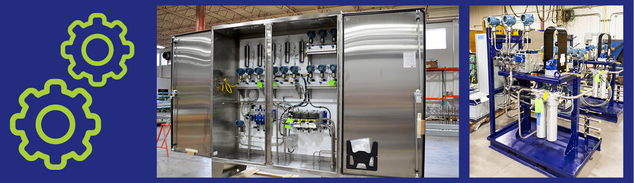 Electrical and Piping Fabrication Shops Work Seamlessly to Create Trip Cabinets and Stands