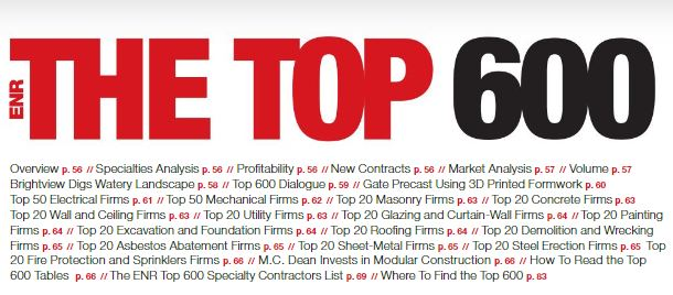 P1 Group Makes ENR Top Specialty Contractor List