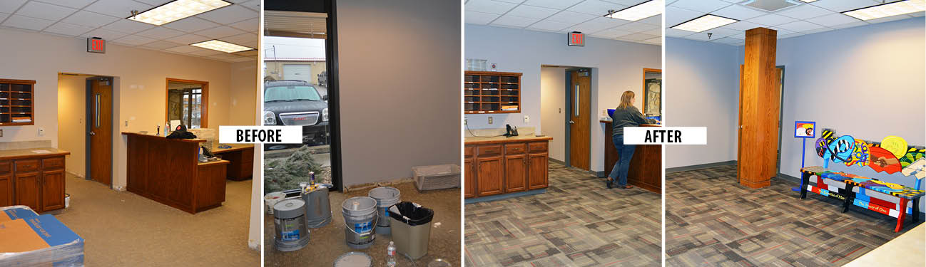 Lawrence Office Gets a Remodel
