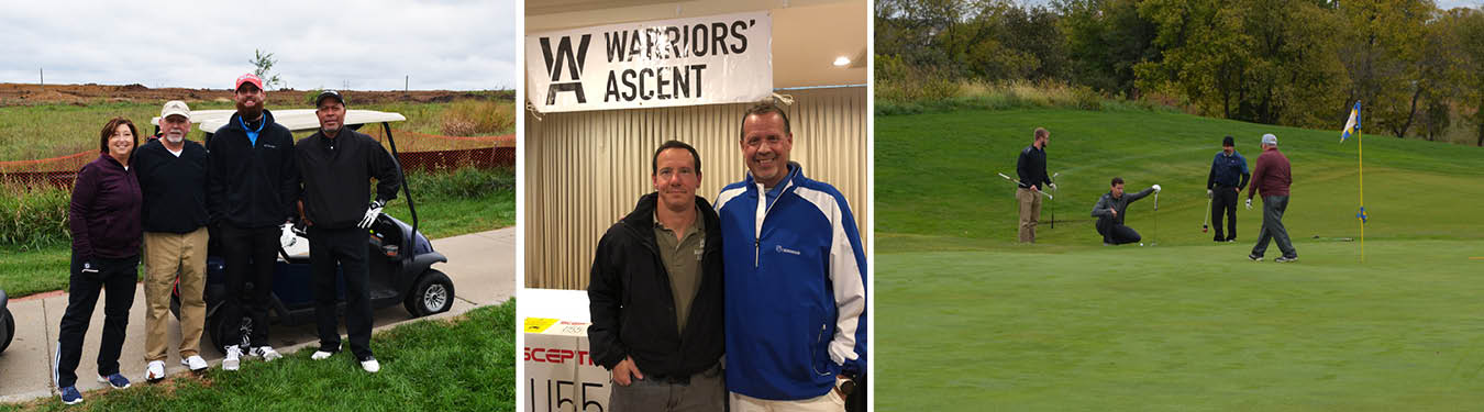 Annual Golf Tournament Raises Funds for Warriors' Ascent