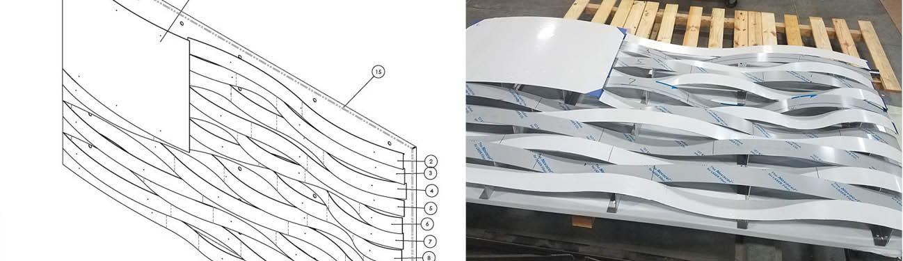 architectural metal artist rendering