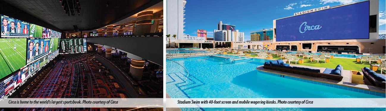 Circa Sportsbook and Stadium Swim