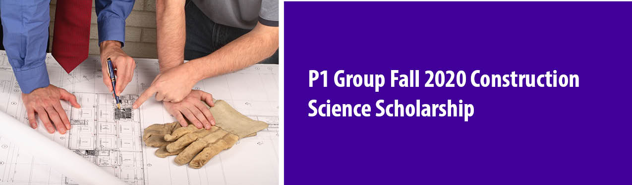 P1 Group Construction Science Scholarship