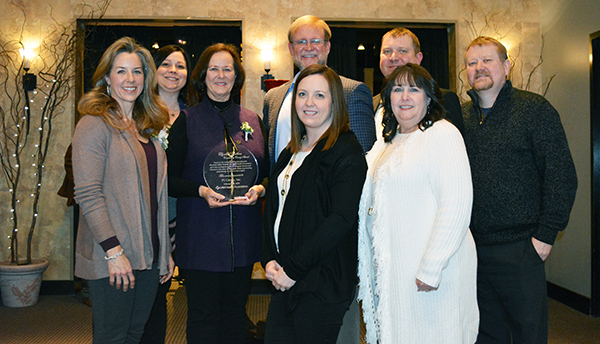 LMH Honors P1 Group with Prestigious Elizabeth Watkins Award