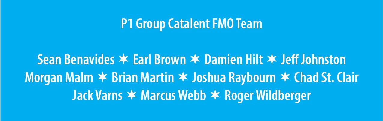 p1 group catalent fmo associates