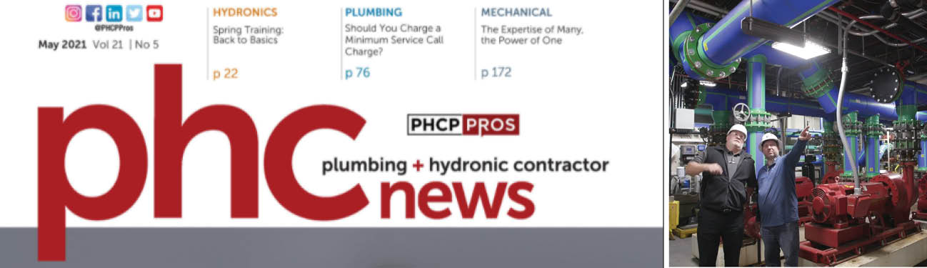 PHC News Magazine Features P1 Group for Innovations in Aquatherm Pipe