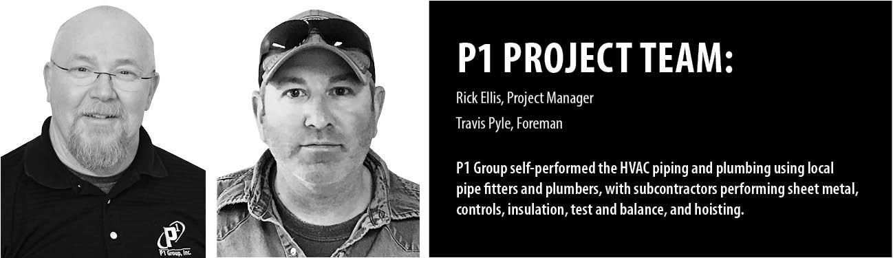 P1 Group Mechanical Construction