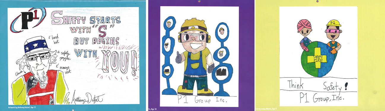 P1 Group Safety Calendar