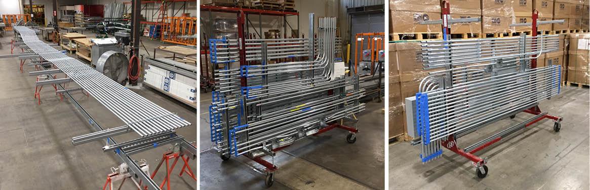 p1 group conduit fabrication racks
