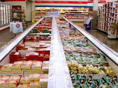 Ammonia Store Floor Freezer