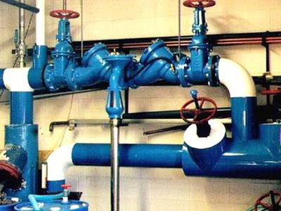 Plumbing Service Blue Pipes