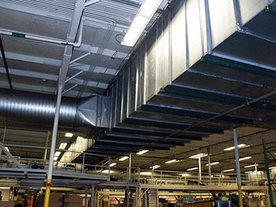 Sheet Metal Indoors