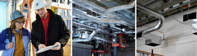 Project Engineer Vince Bailey Leads Science City HVAC Project