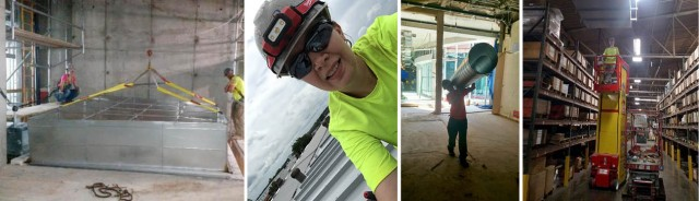 Sheet Metal Apprentice Rachel Toney Takes Big Chance on New Career