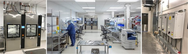Lawrence Memorial Hospital Sterile Processing Addition
