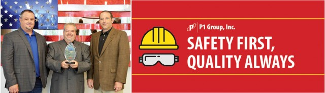 P1 Group Earns Top Safety Award from Mechanical Contractors Association of America (MCAA)