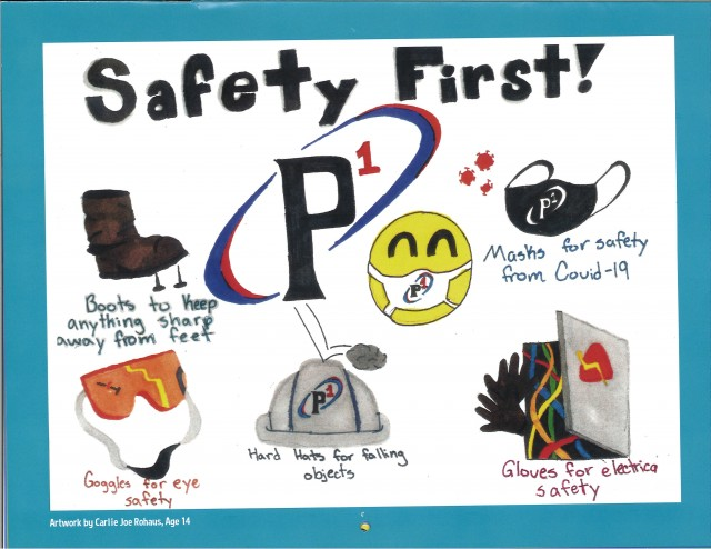 The 2021 P1 Group Safety Calendar is Here!