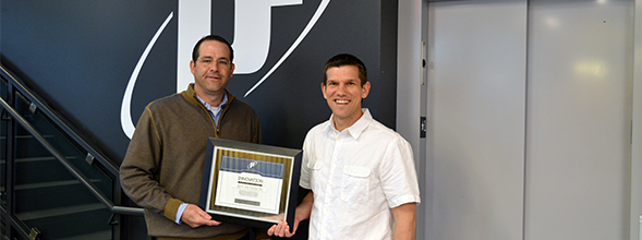 P1 honors Innovation Award recipient