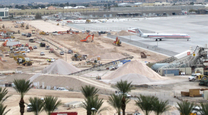 P1 Group completes gas line relocation at McCarran Airport