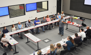 P1 office associates receive safety training